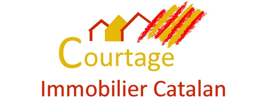 logo Courtage Immobilier Catalan
